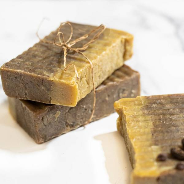 Sheabutter mocha chocolate soap